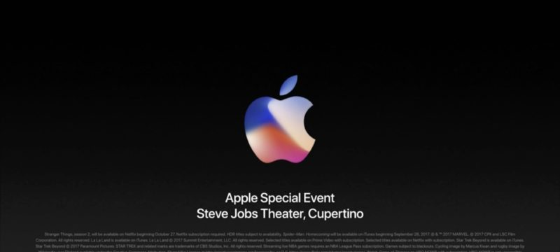 Apple iPhone Keynote 2017 Zusammenfassung