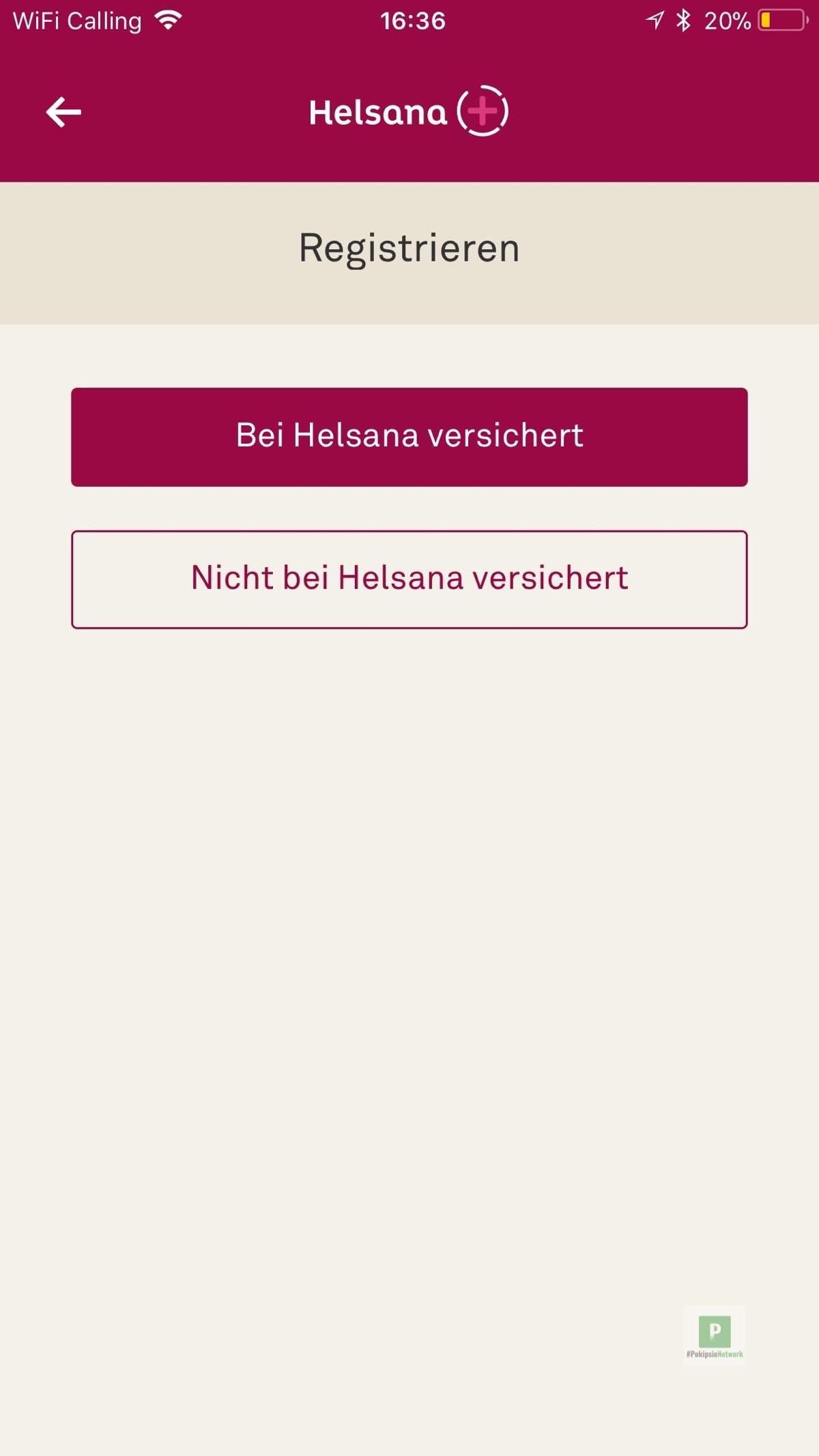 Bei Helsana versichert oder nicht?