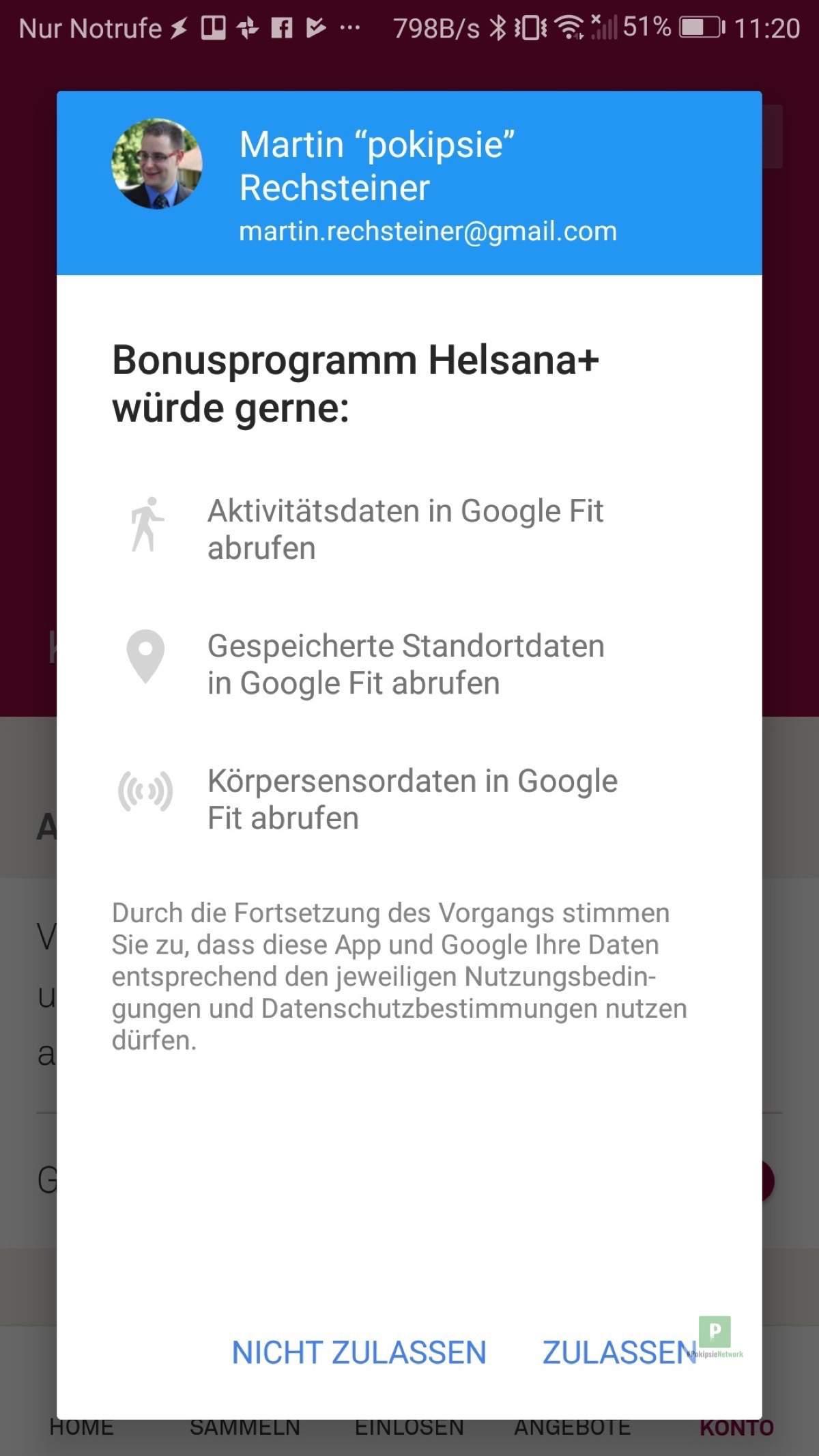 Helsana + Bonusprogramm App im Test