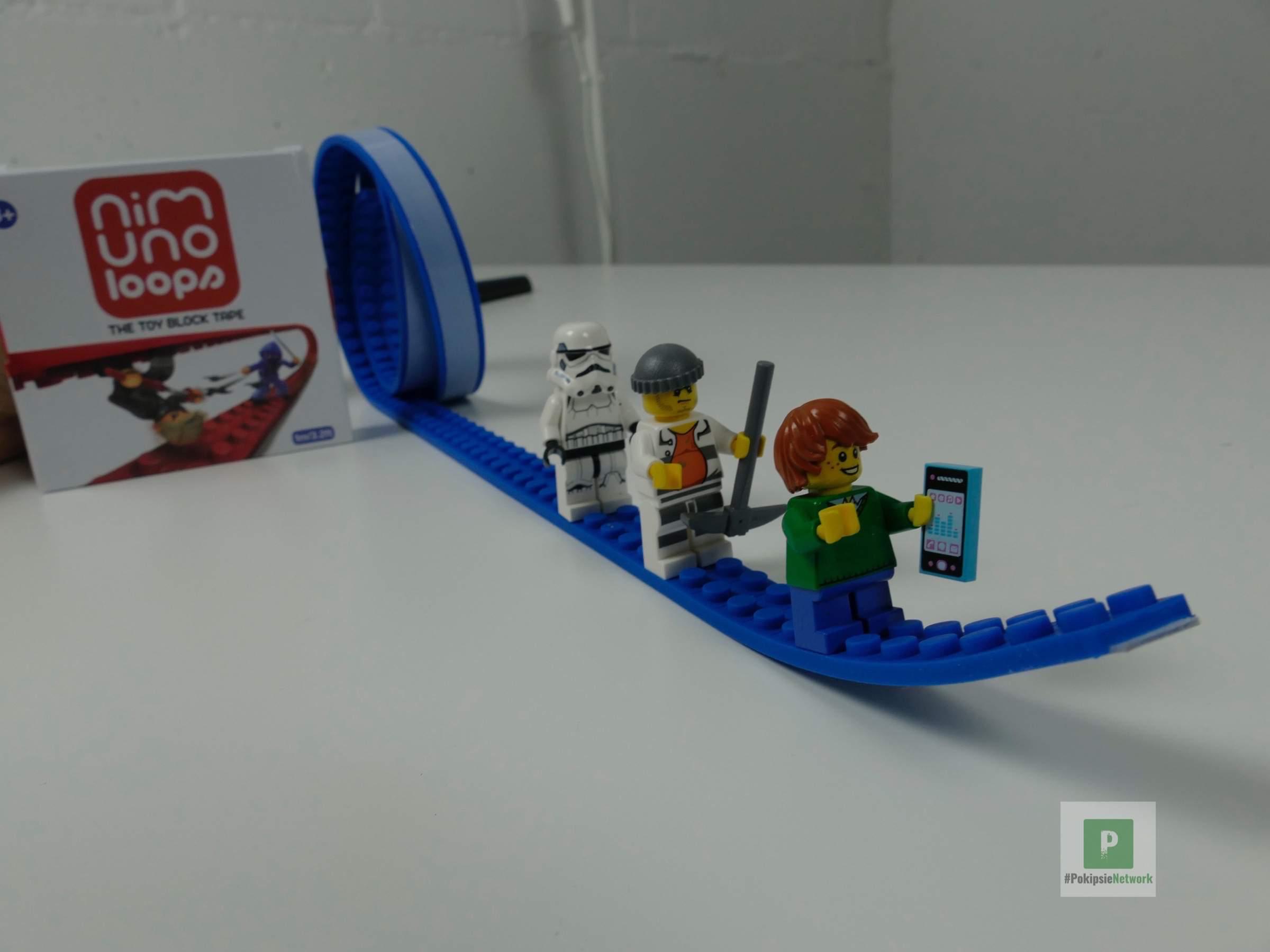 Nimuno Loops – Klebeband mit LEGO-Musterung