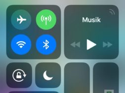 iOS 11 Tutorial – Kontrollzentrum anpassen – IMG_0010