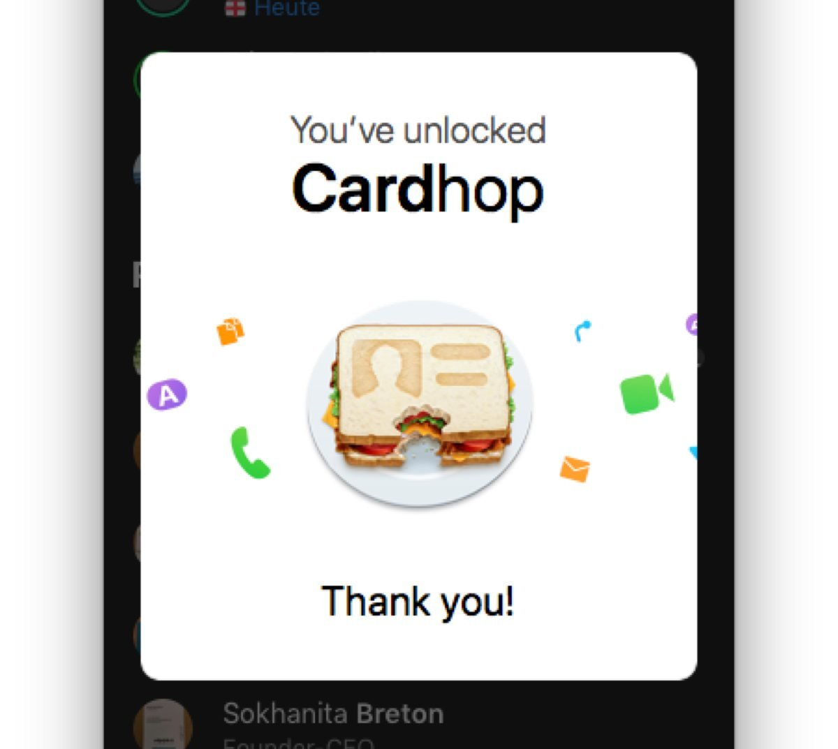 Cardhop for Mac – Adressbuch in genial
