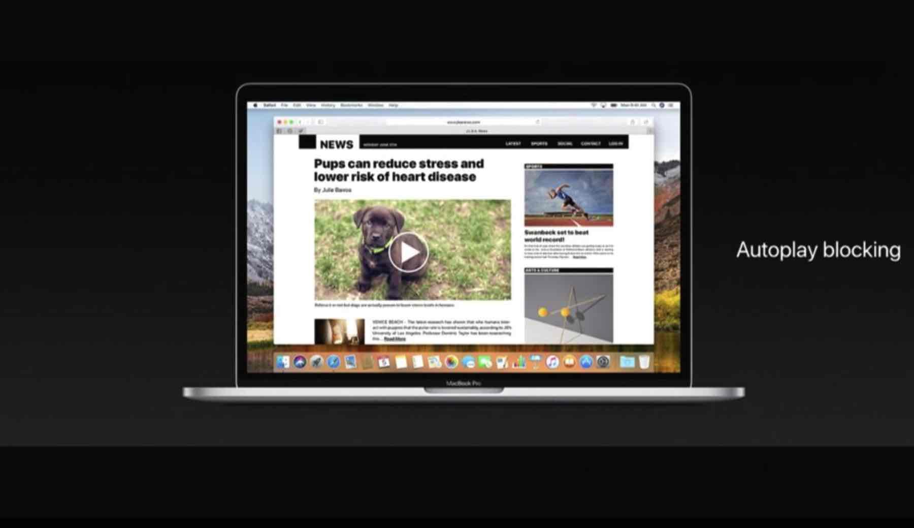 macOS Tipp – Webseiten in Safari anpinnen