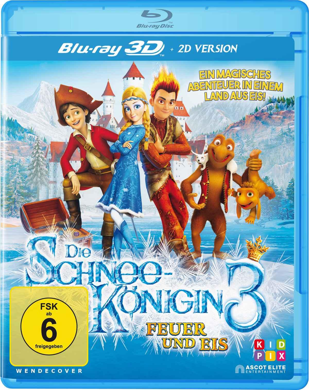 Die Schneekönigin 3 – Feuer und Eis