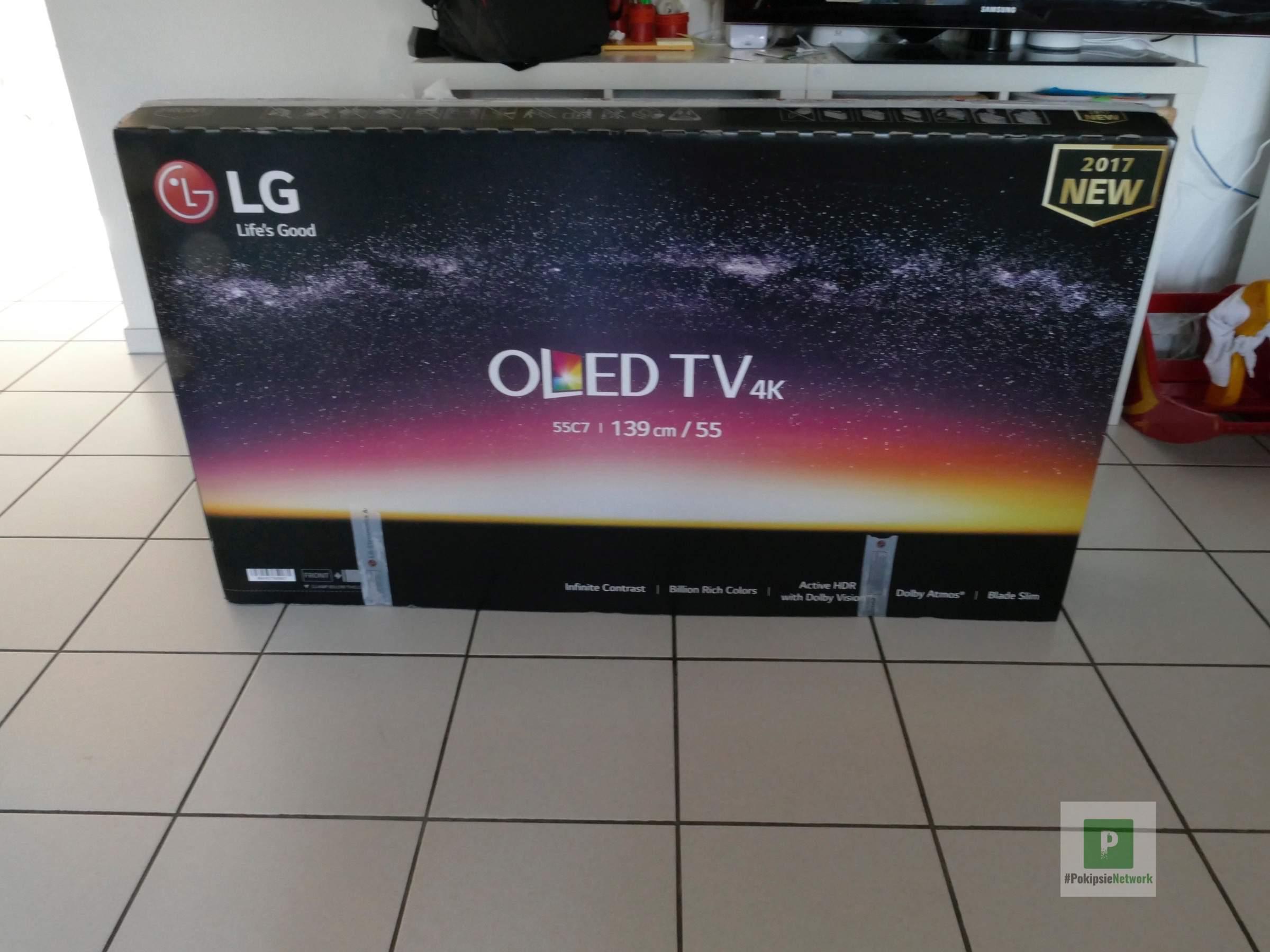 Die grosse Verpackung vom Fernseher