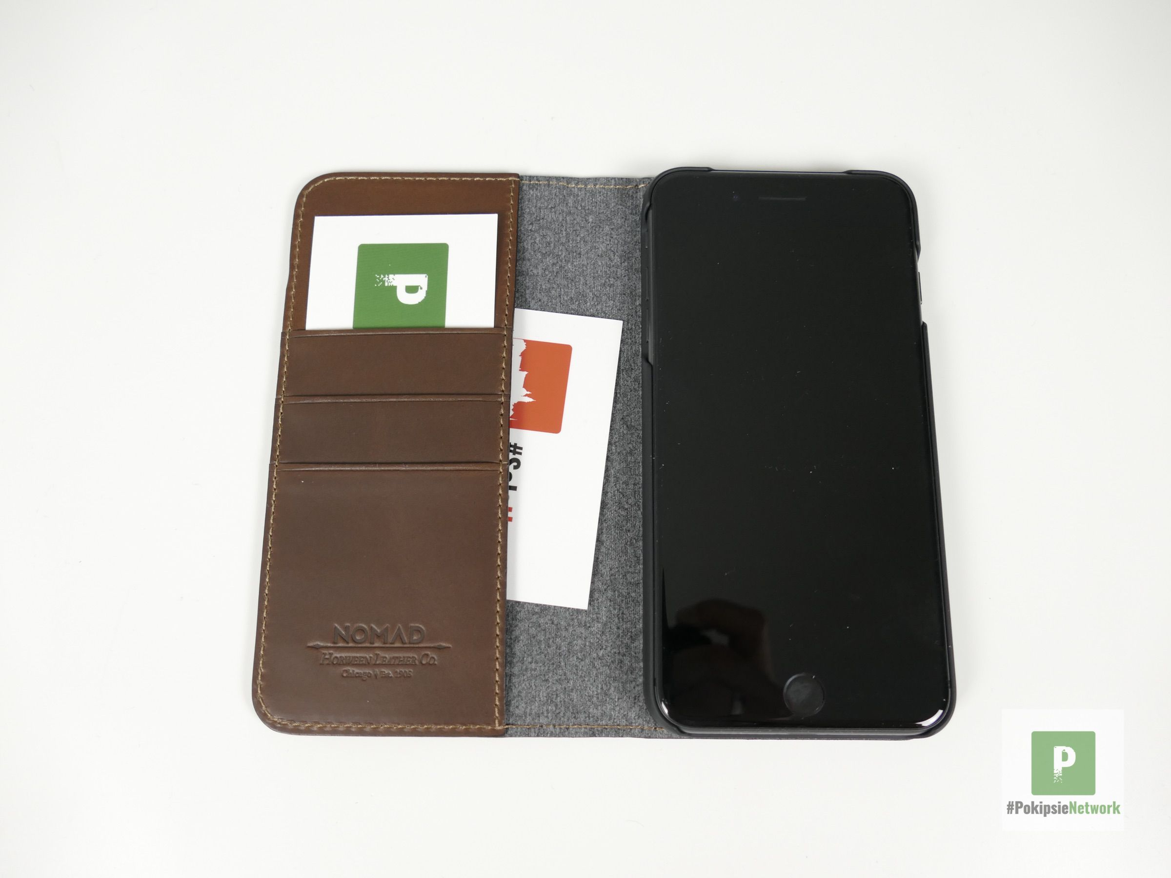 Nomad Leather Folio iPhone 8 Plus