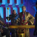Thor - Chris Hemsworth, Grandmaster - Jeff Goldblum