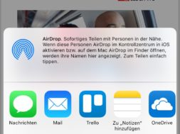 Tutorial – eMails auf dem iPhone in PDF umwandeln
