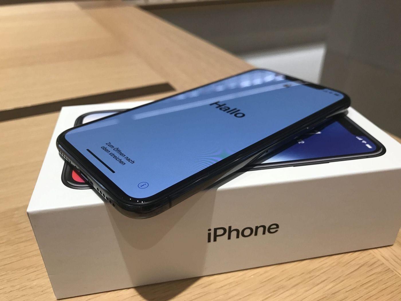 iPhone X – Impressionen vom Verkaufsstart und Unboxing