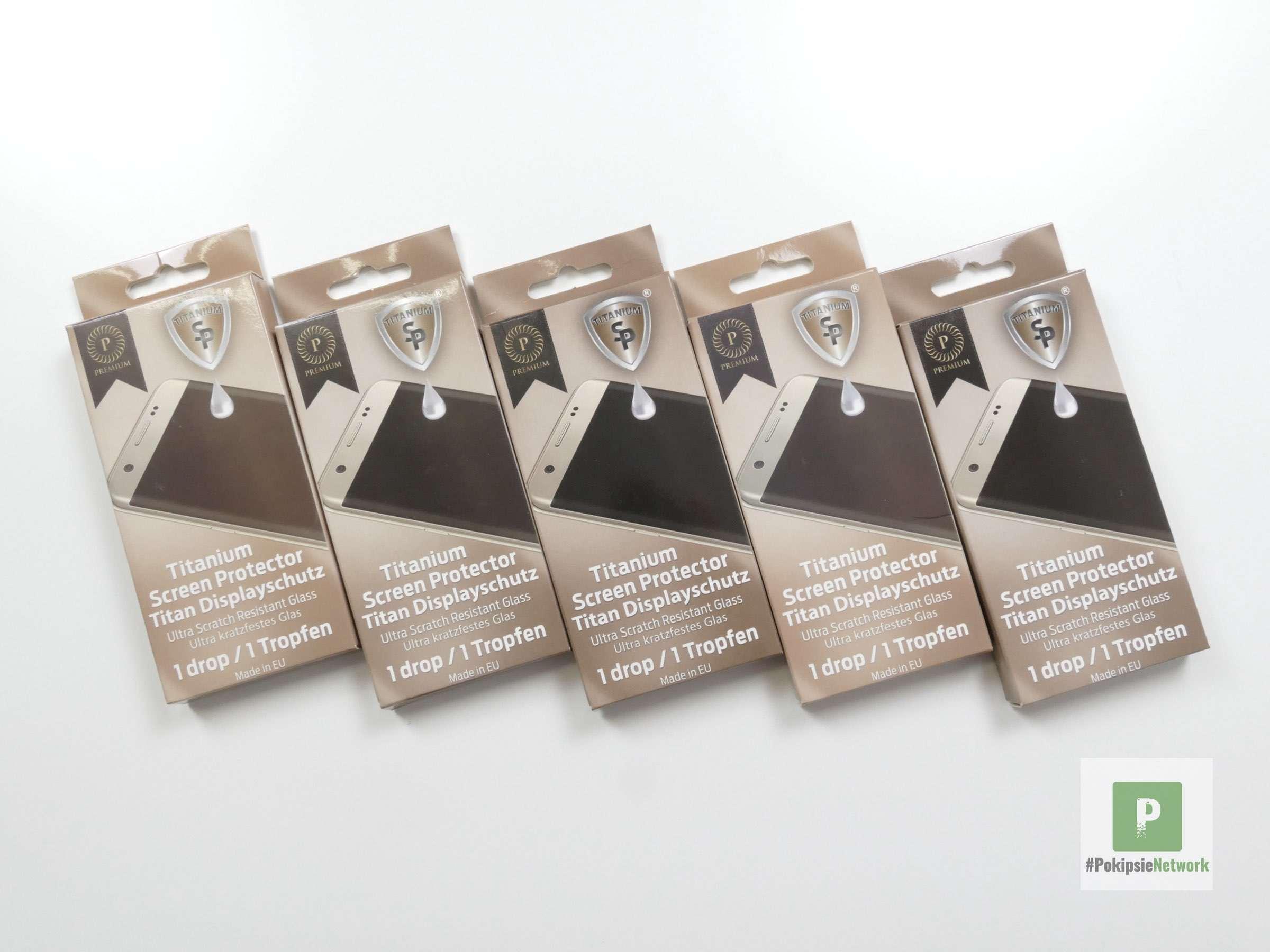 SP Titanium Displayschutz flüssig