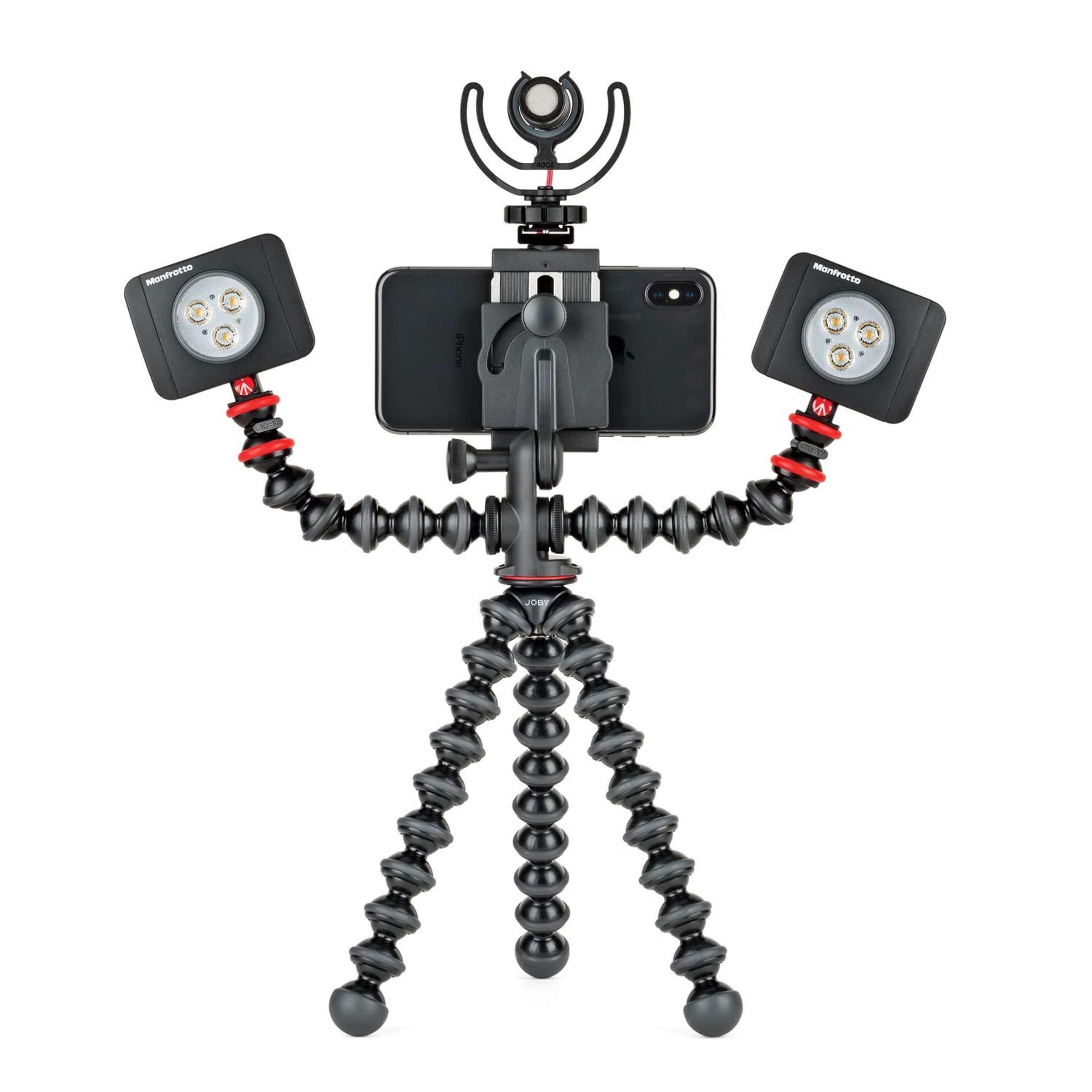 mit LEDs und Mikrofon