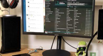 Samsung C24FG80 Curved Gaming Monitor mit FreeSync