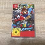 Super Mario Odyssey Verpackung