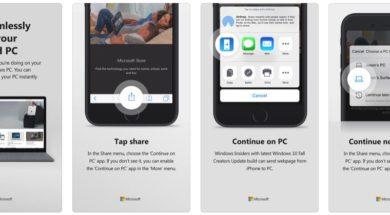 Continue PC von Android/iOS zu Windows