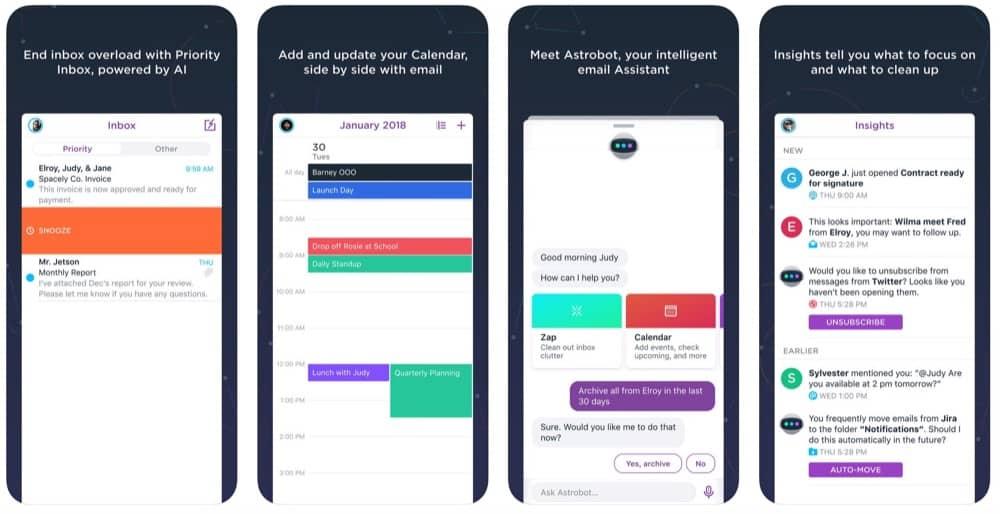 Astro Mail App