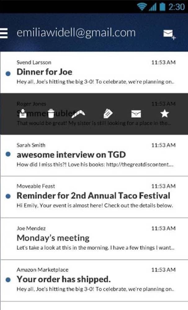 Boomerang Mail App