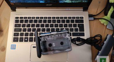 Musikkassetten digitalisieren