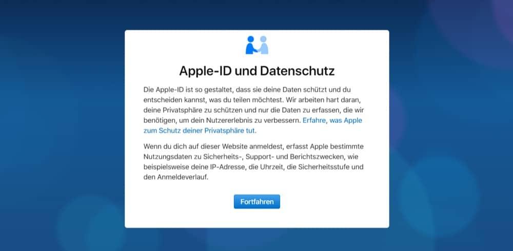 Apple – Alle gespeicherten Kundendaten herunterladen