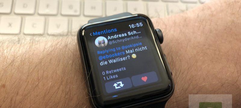 Chrip – endlich wieder Twitter auf der Apple Watch