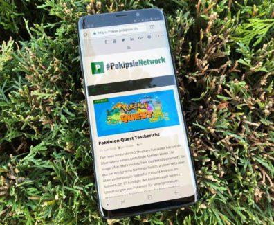 Samsung Galaxy S9+ Testbericht