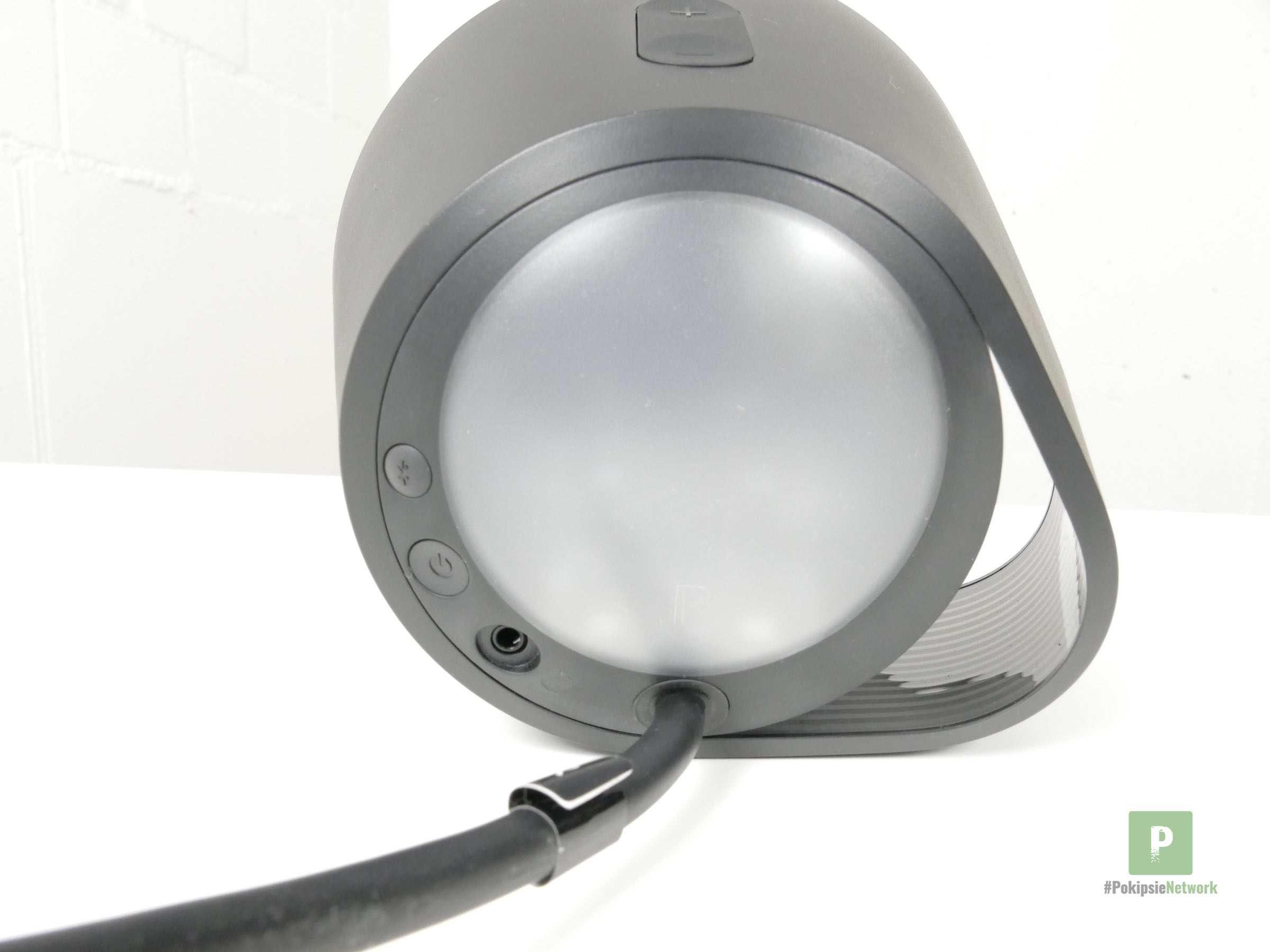 Die grosszügige LED auf der Rückseite