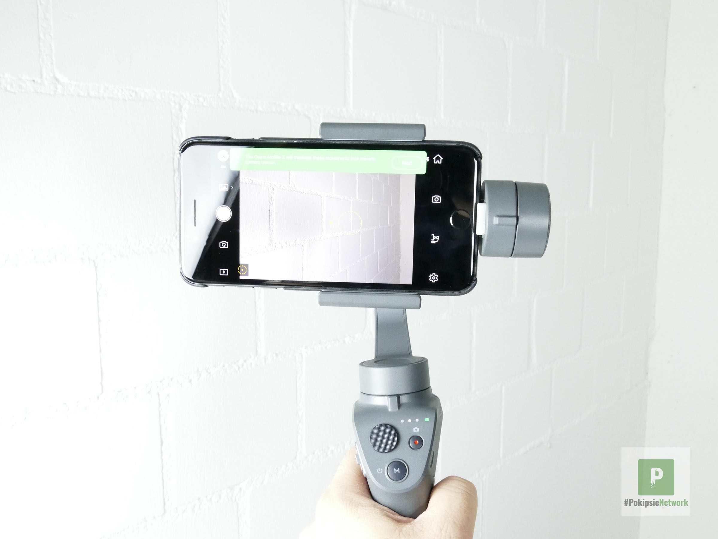 Smartphone Montiert