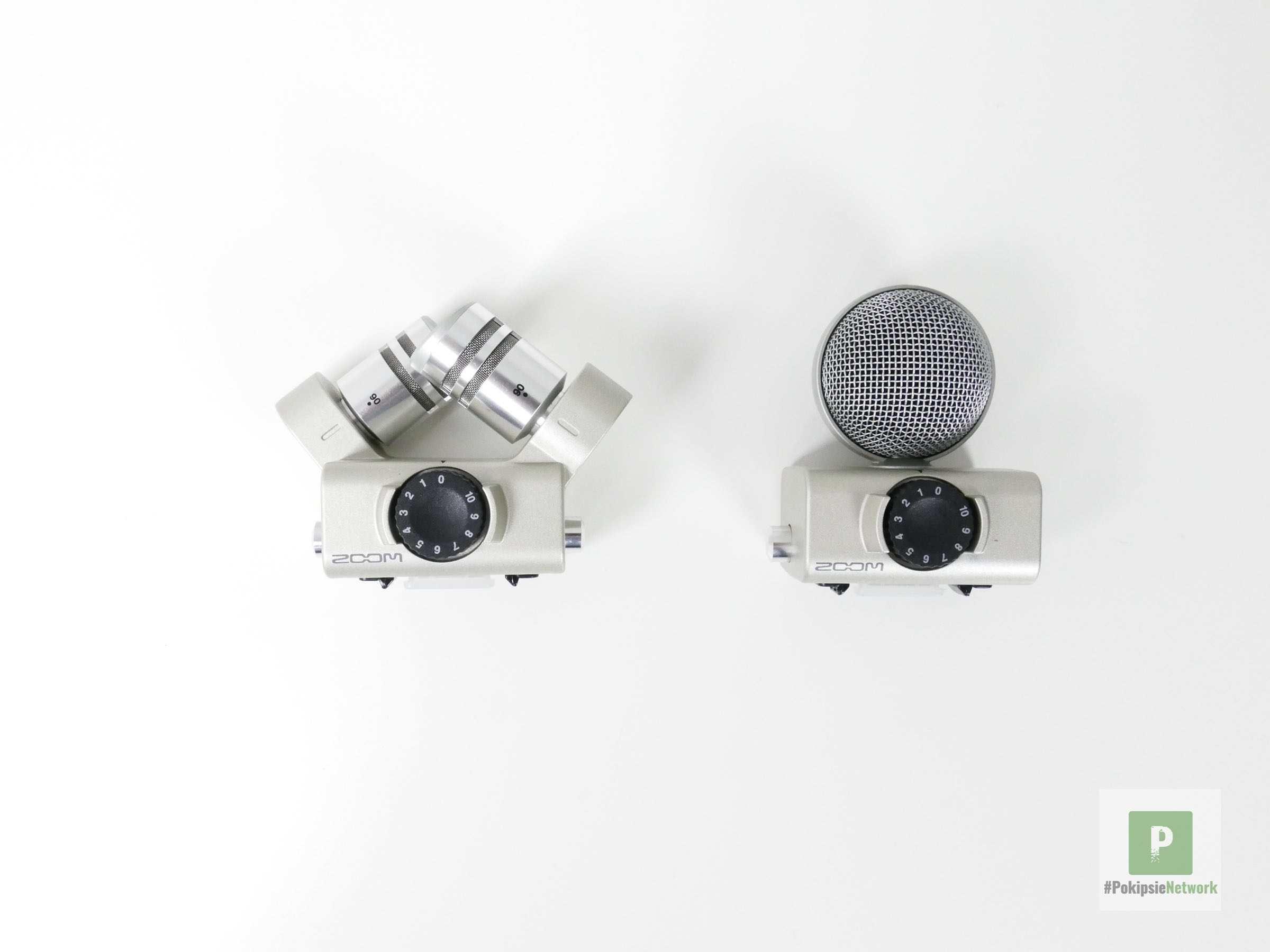 Zoom H6 - die beiden Module