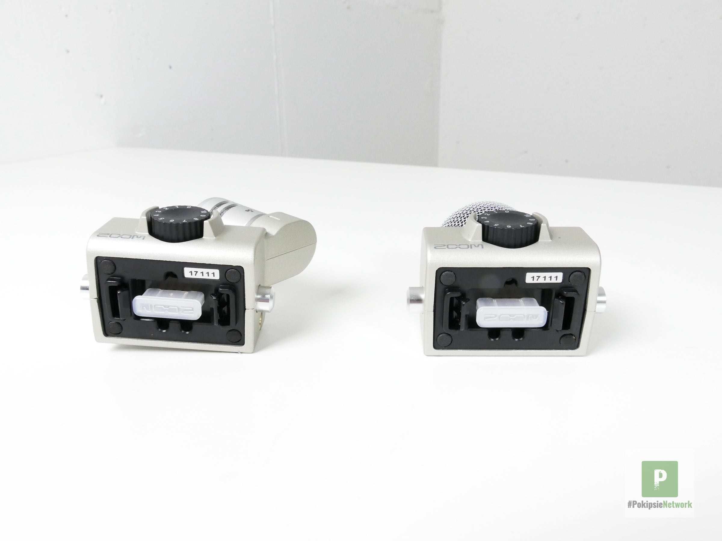 Zoom H6 - die beiden Module von unten