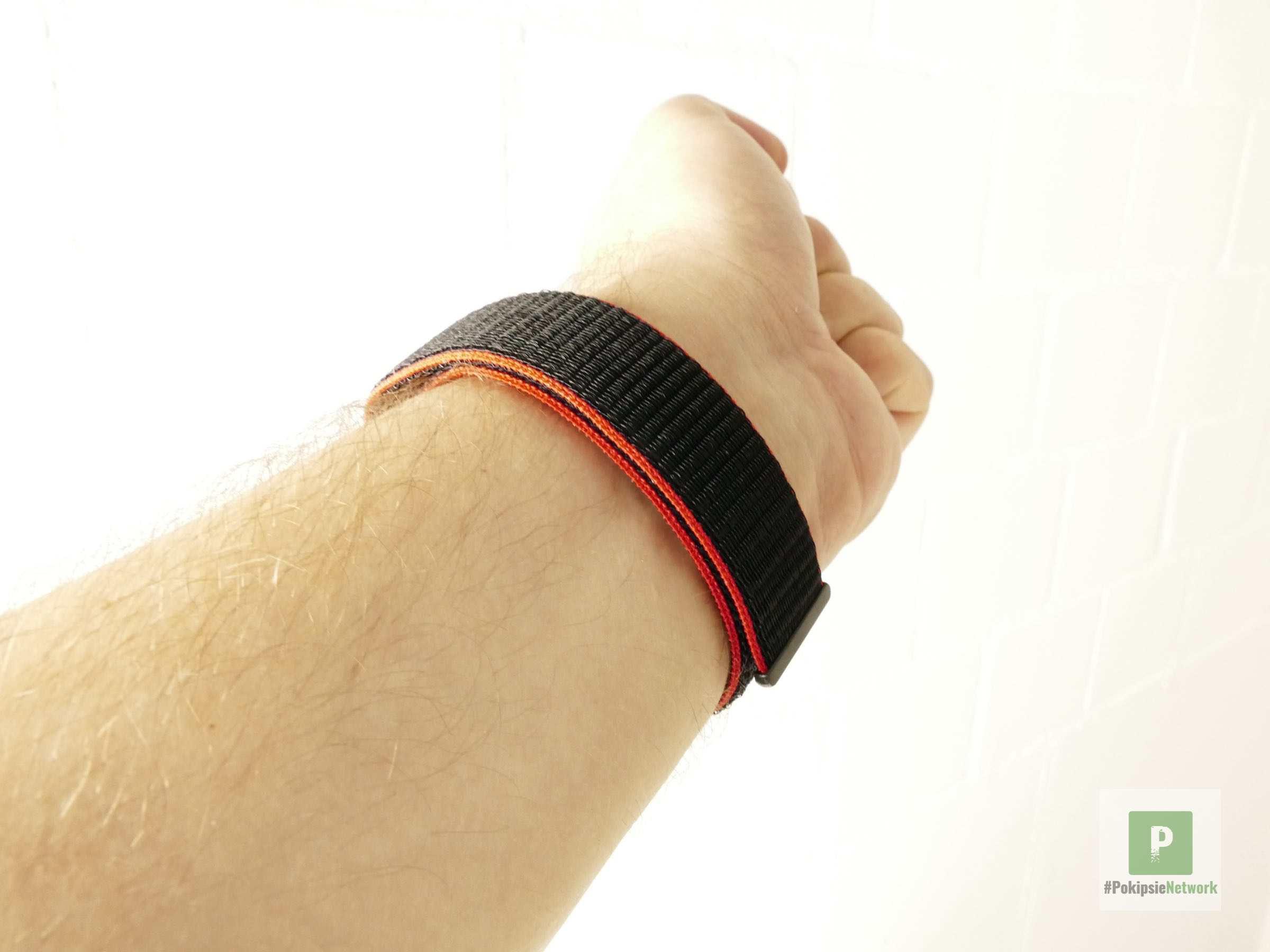 Die Unterseite des WATCHPOP Armbands