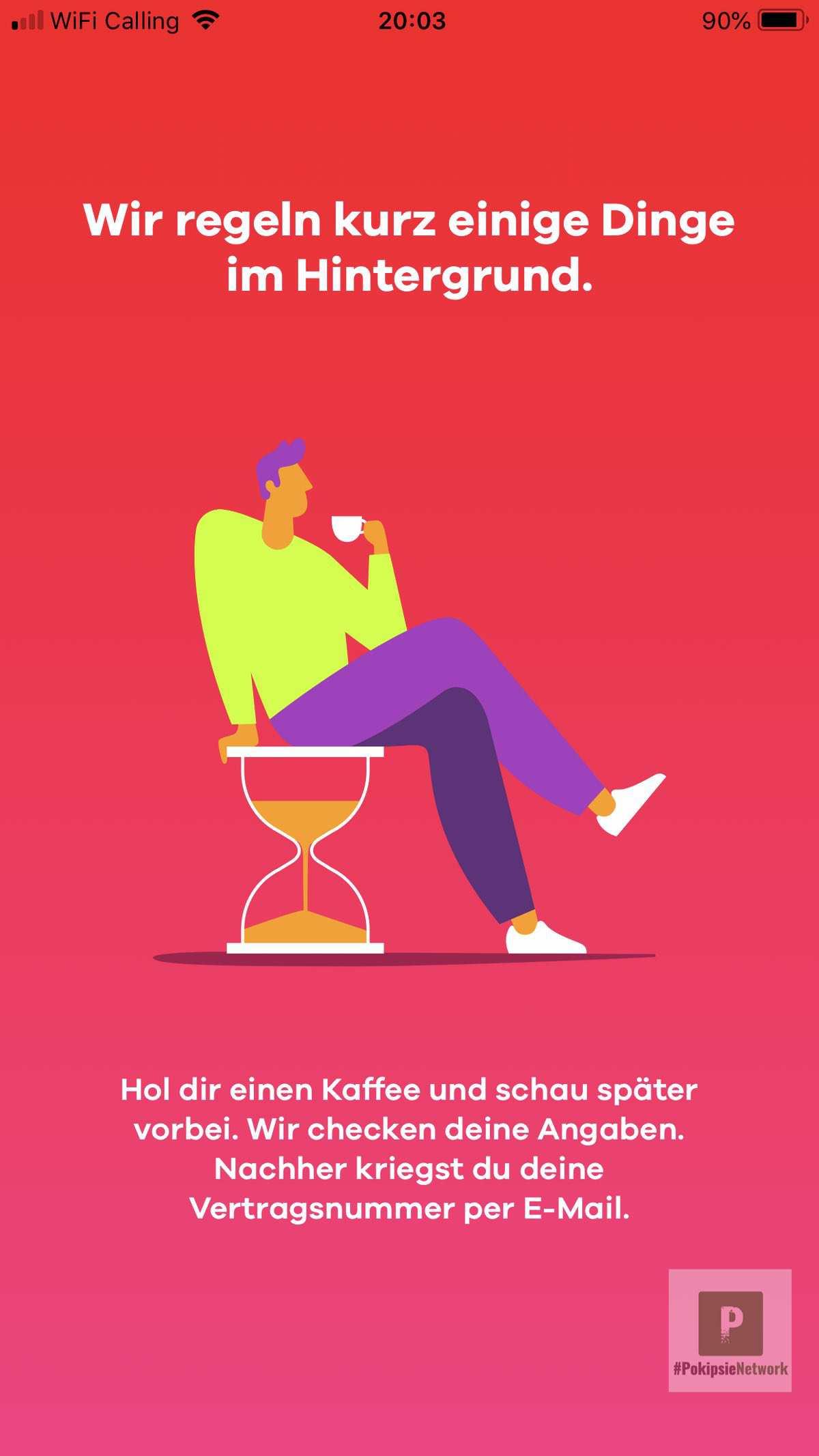 Aufforderung Kaffee zu trinken - ob das um 21:55 noch gescheit ist?