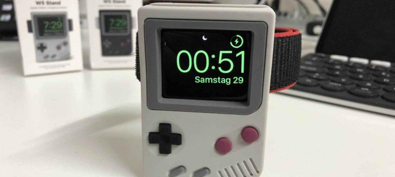 Elago W5 Stand – Gameboy-Dockingstation für die Apple Watch
