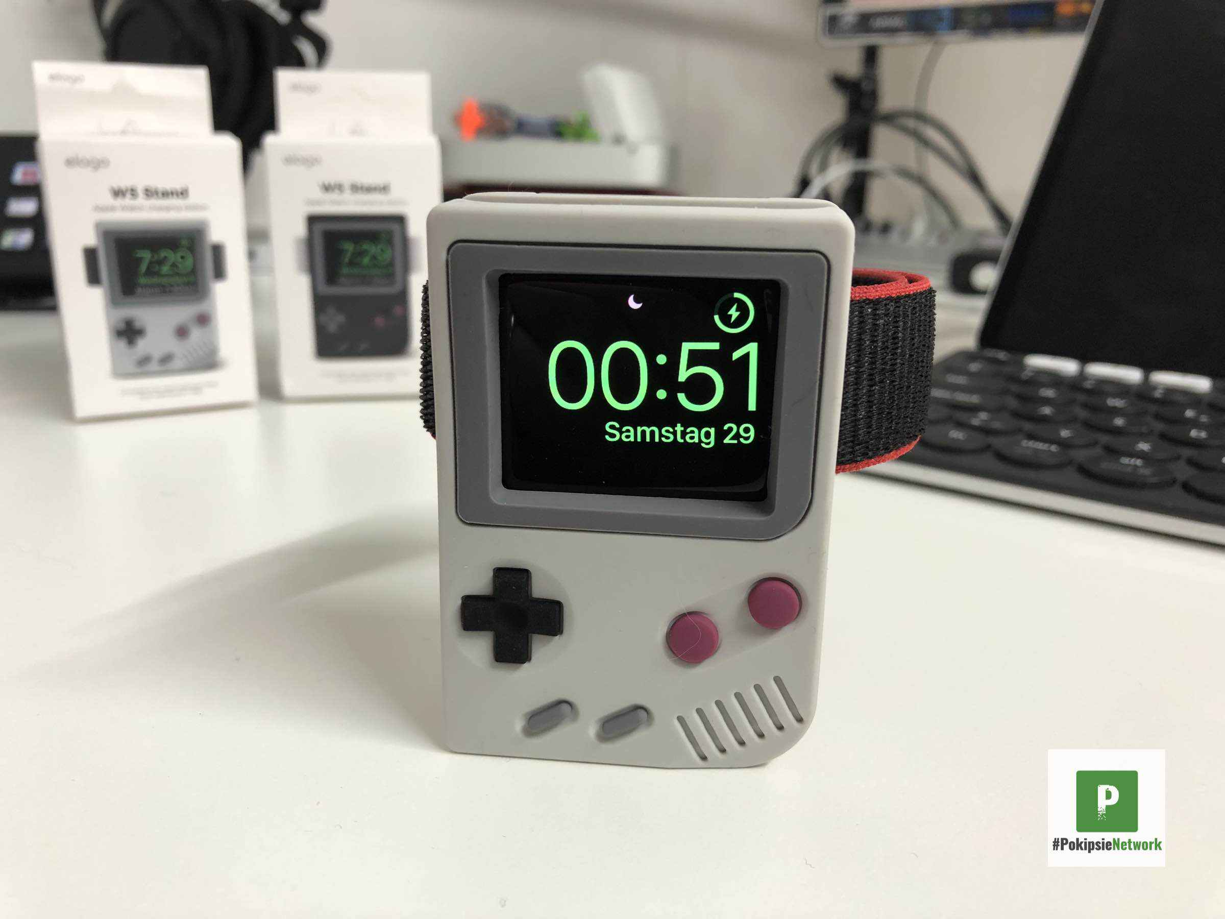 Elago W5 Stand – Gameboy-Dockingstation für die Apple Watch