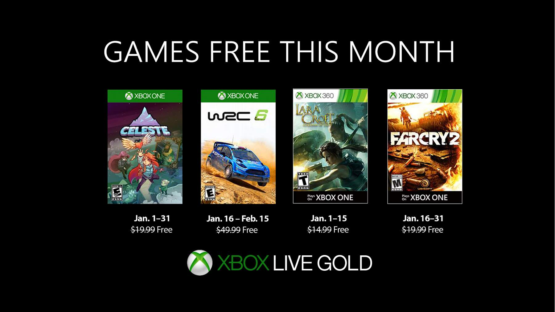 Januar 2019 – Games with Gold