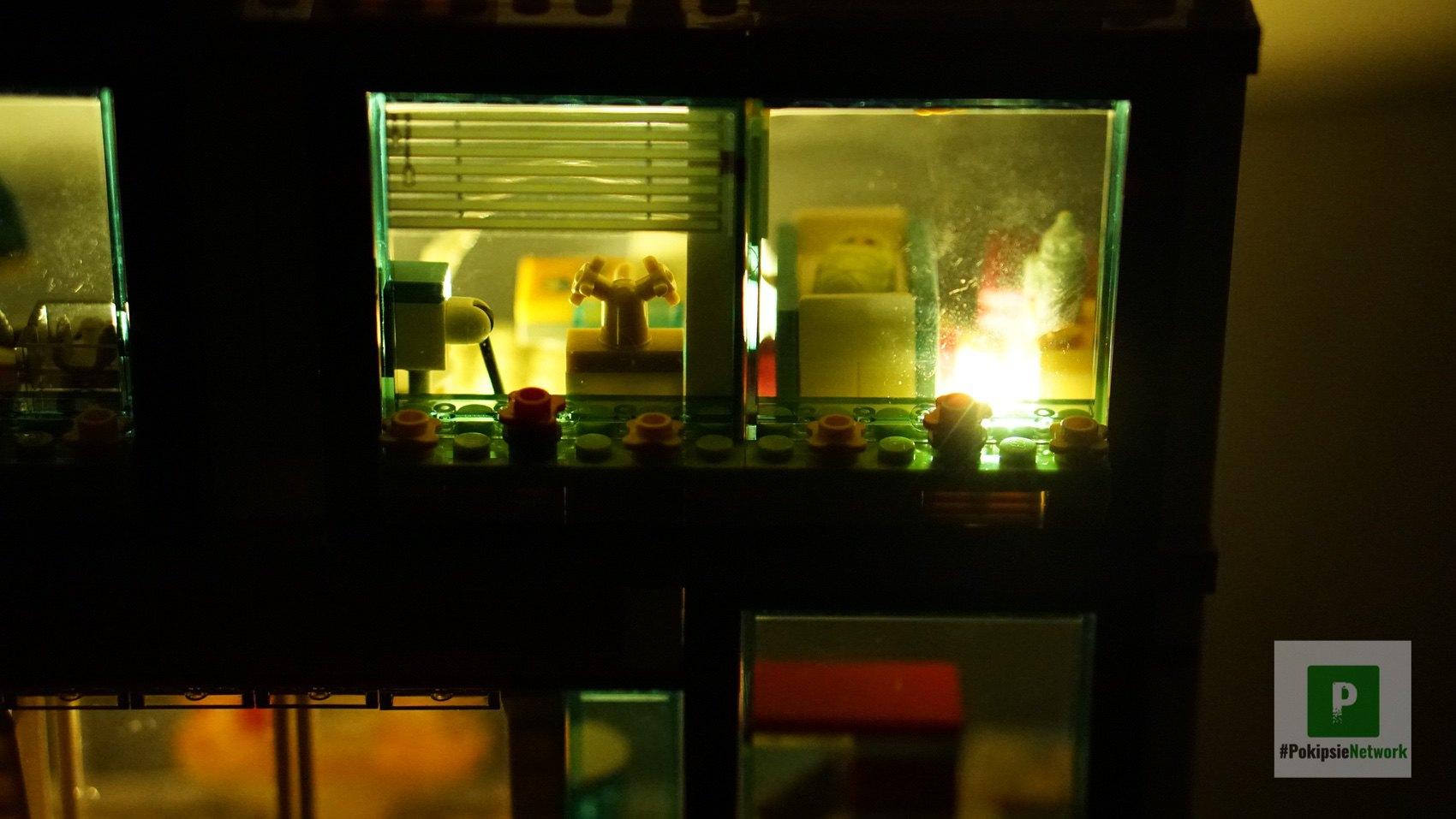 Die Babystation bei Nacht