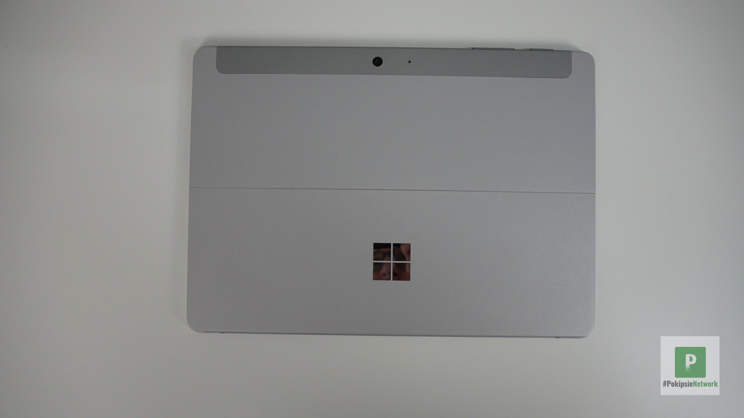 Die Rückseite vom Surface Go