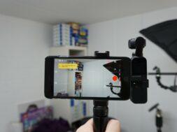 Skyreat Halterung mit Griff für das Osmo Pocket