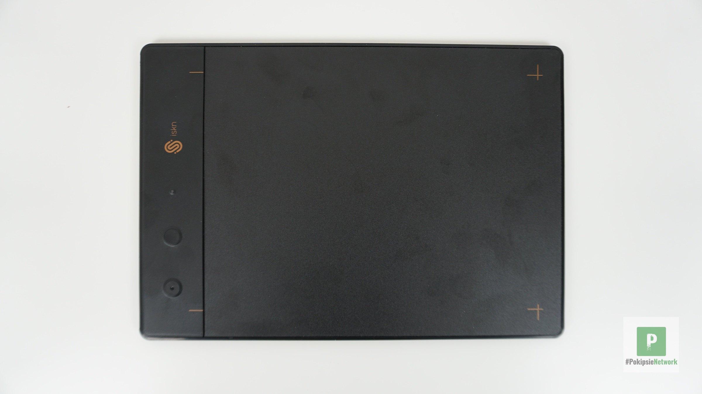 Das Tablet von oben