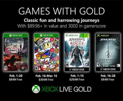 Games with Gold – Februar 2019