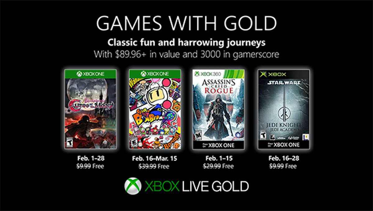 Februar 2019 – Games with Gold
