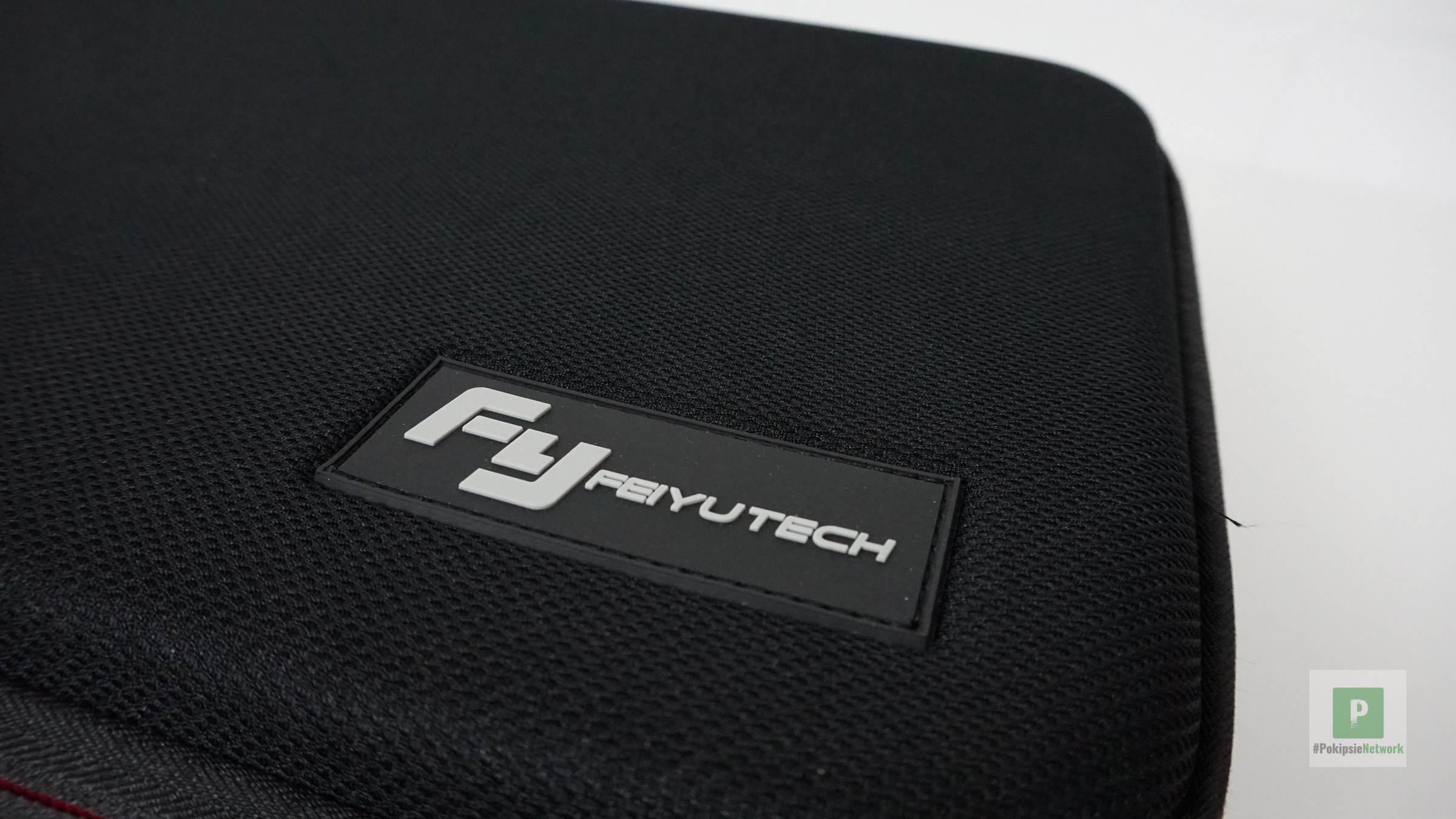 Der FeiyuTech Brand auf dem Deckel