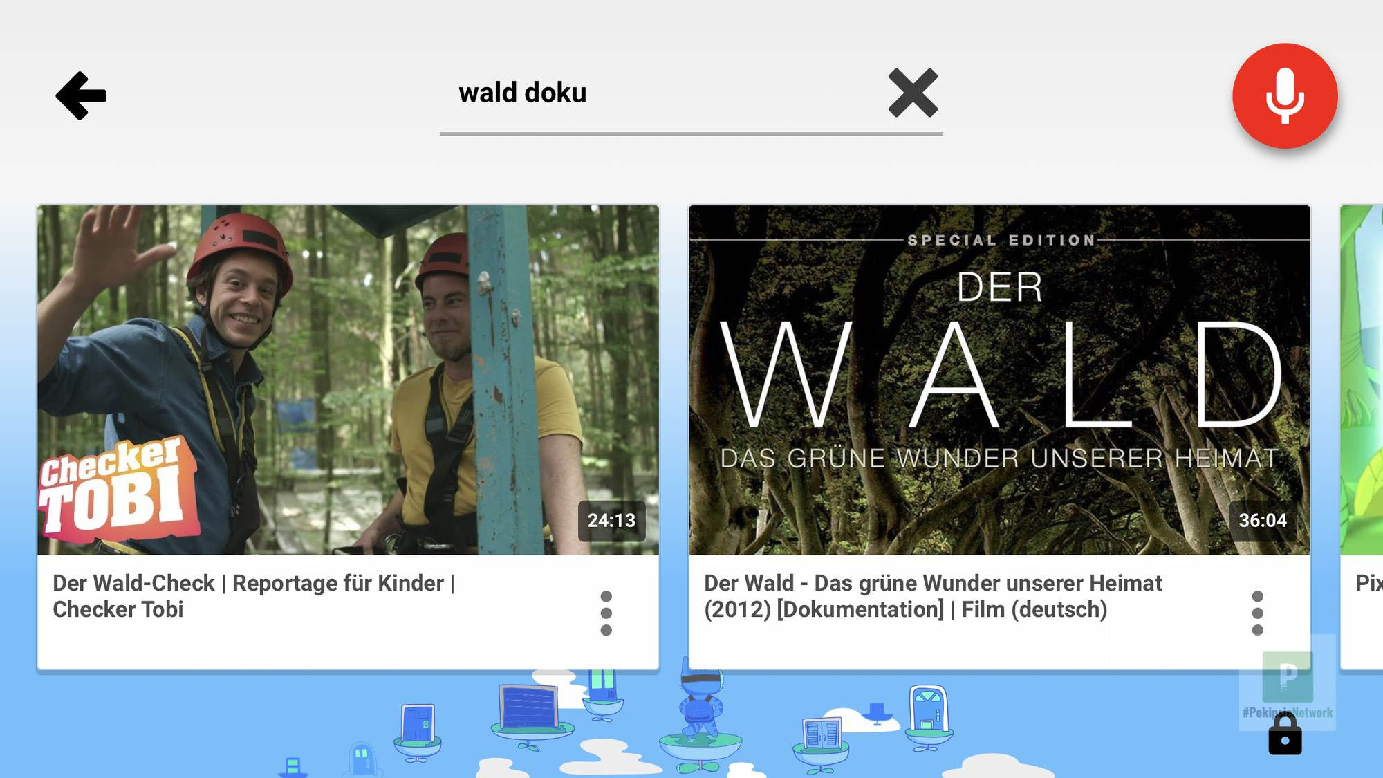 Die Suche nach Wald-Dokus