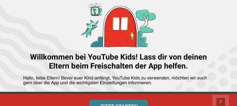 YouTube Kids – Endlich auch in der Schweiz