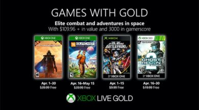 April 2019 – Games with Gold