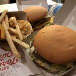 Ja, wir waren auch im McDonalds - liegt daran dass die in Spanien einen gf Burger im Sortiment haben