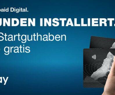 Digitale Prepaid Kreditkarte von SwissBankers