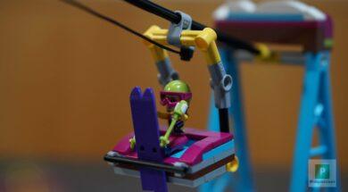 LEGO Friends Skilift im Wintersportort 41324