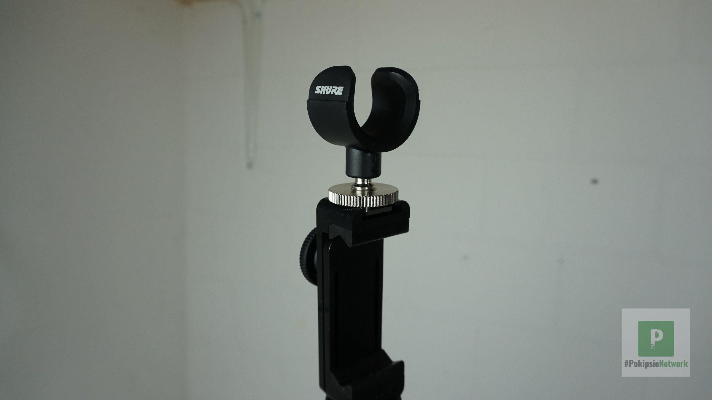 Die Mikrofon Halterung