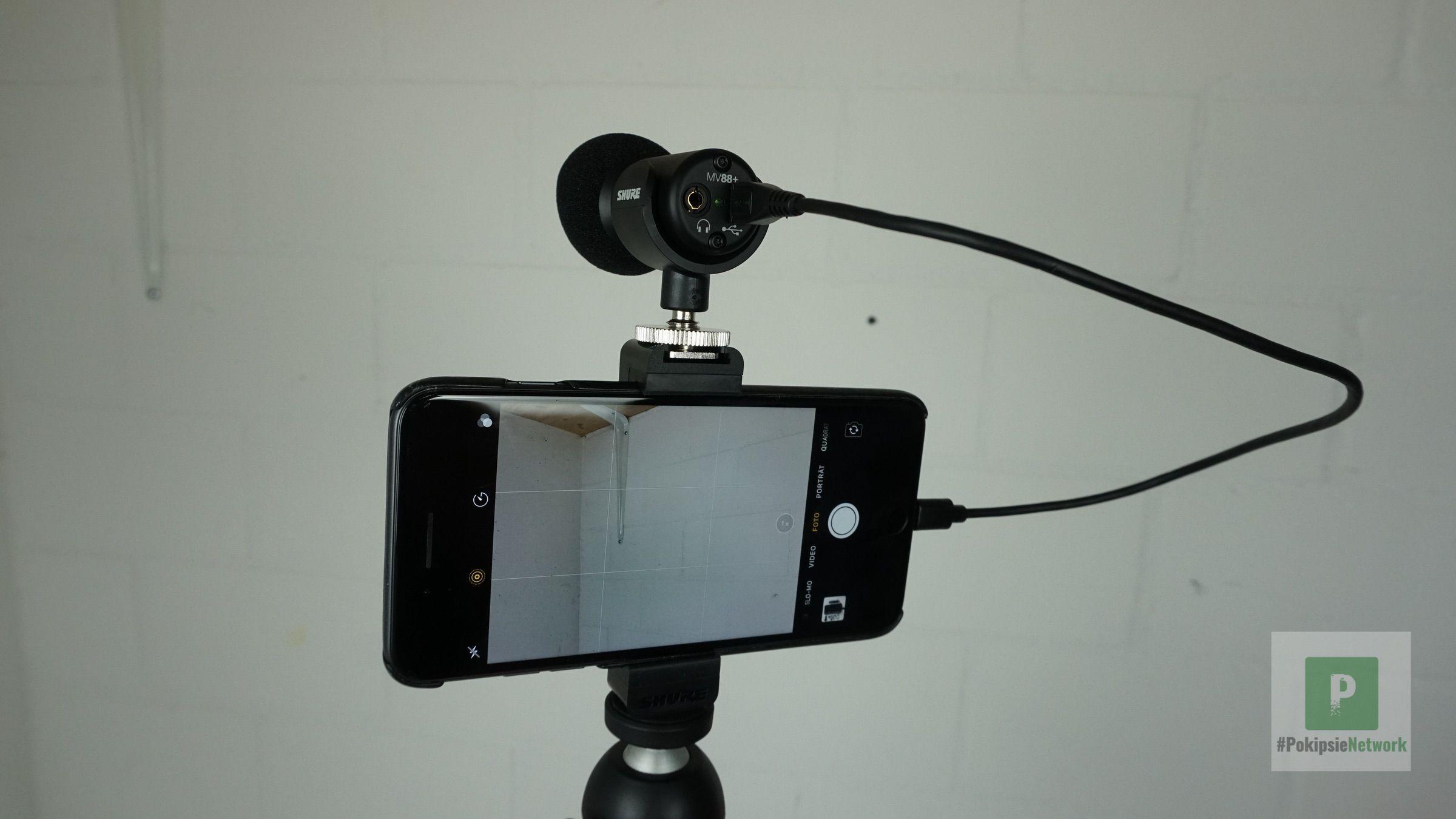 Alles am Smartphone Montiert