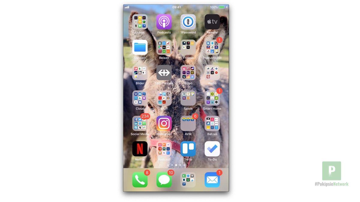 Der iPhone Screen auf deinem Mac
