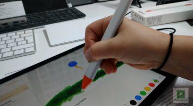 Logitech Crayon mit Apple Pencil